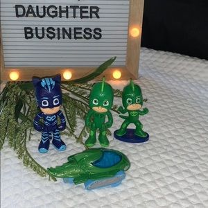 PJ Masks Figures Vehicle For Play Or Cake Topper